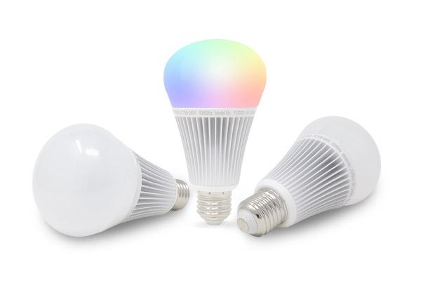 Mi-Light 9w RGB+CCT LED Smart Lamps
