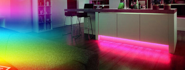 Colour Changing LED Strips