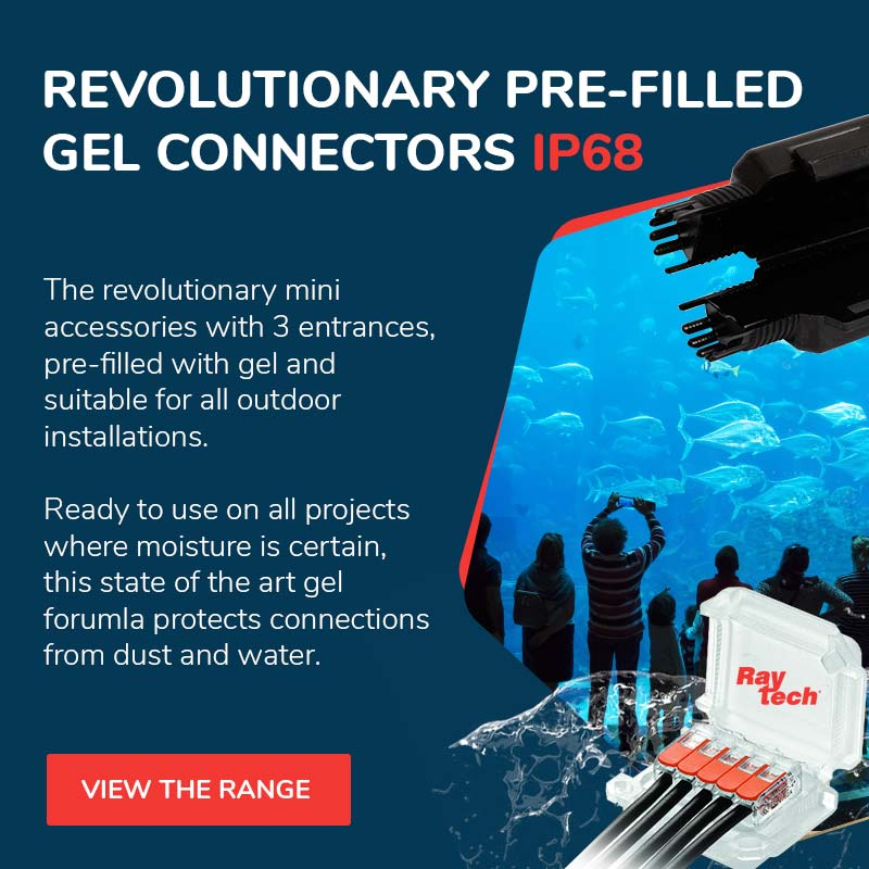 waterproof gel connectors