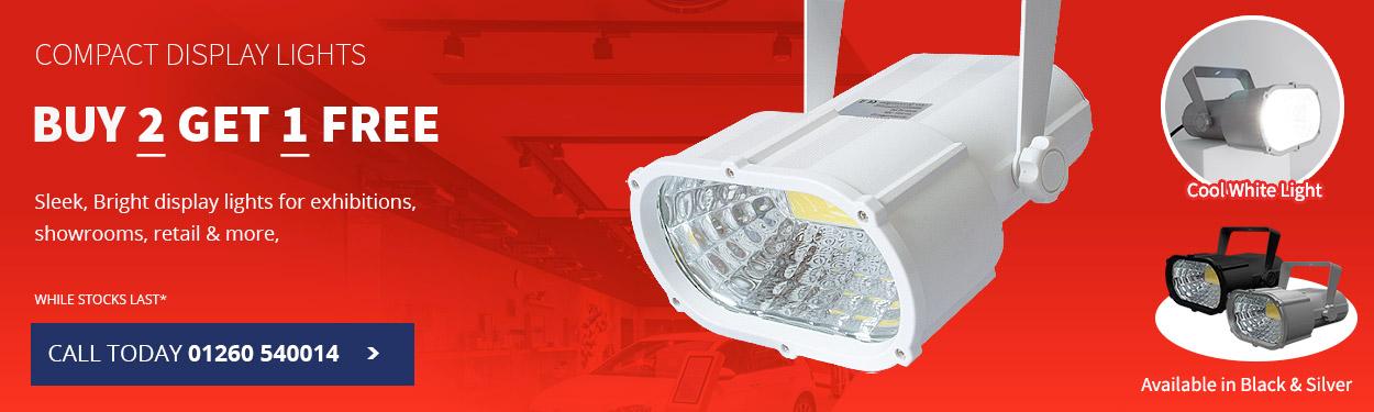 Compact Display Lights