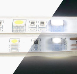 What is the difference between 12V and 24V LED strip?