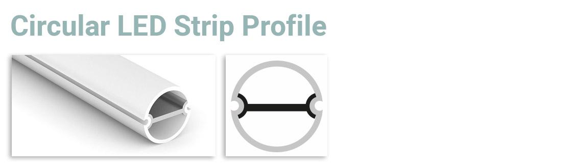 Circular LED Strip Profile