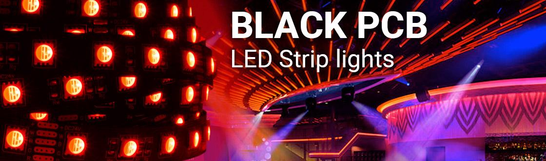 Black PCB LED Strip Lights