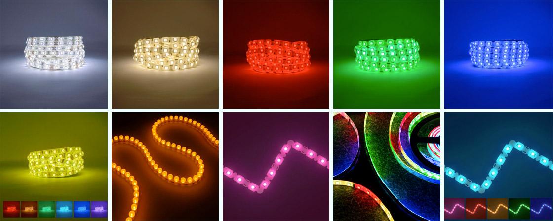 12V LED Strip Lights for Campervans