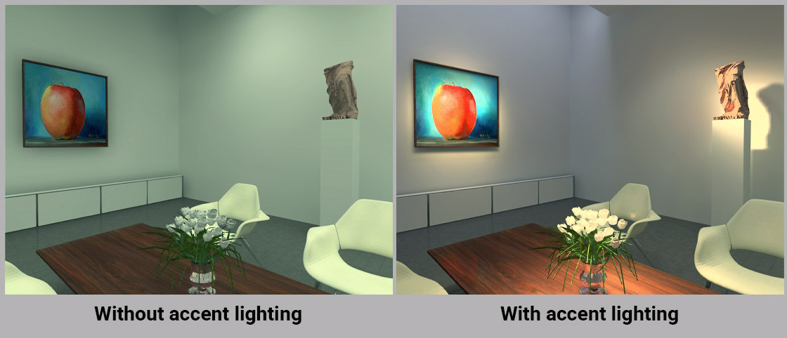 LED Accent Lighting for Your Home