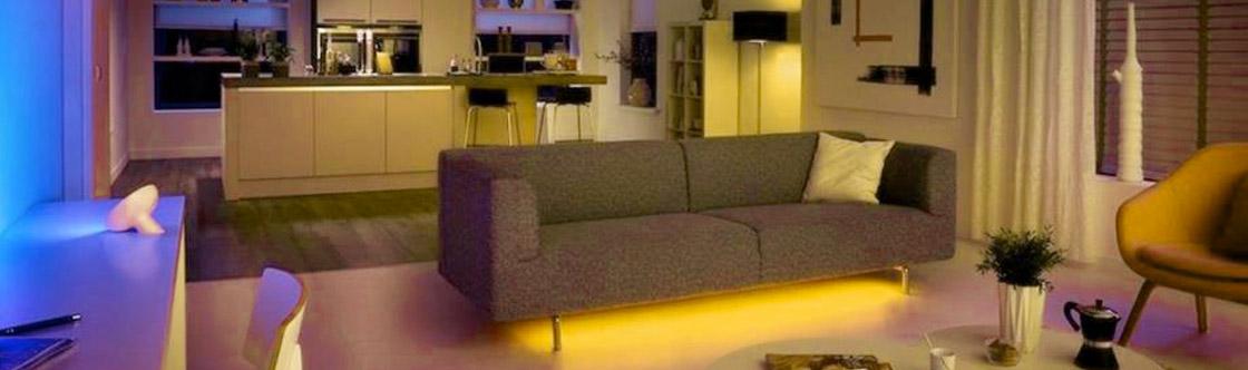 LED Strip Lights in furniture