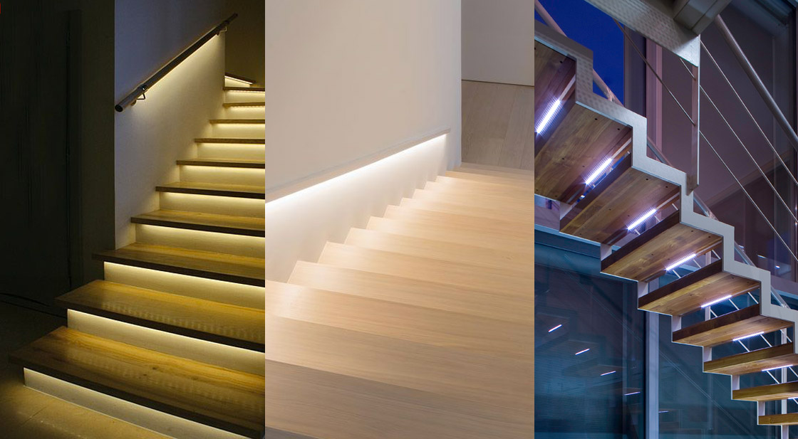 LED Strip Lights for Stairs