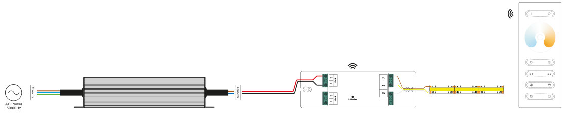 CCT Strip Light Installation Products