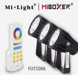 Testing the new Mi-Light LED Garden Light Set.