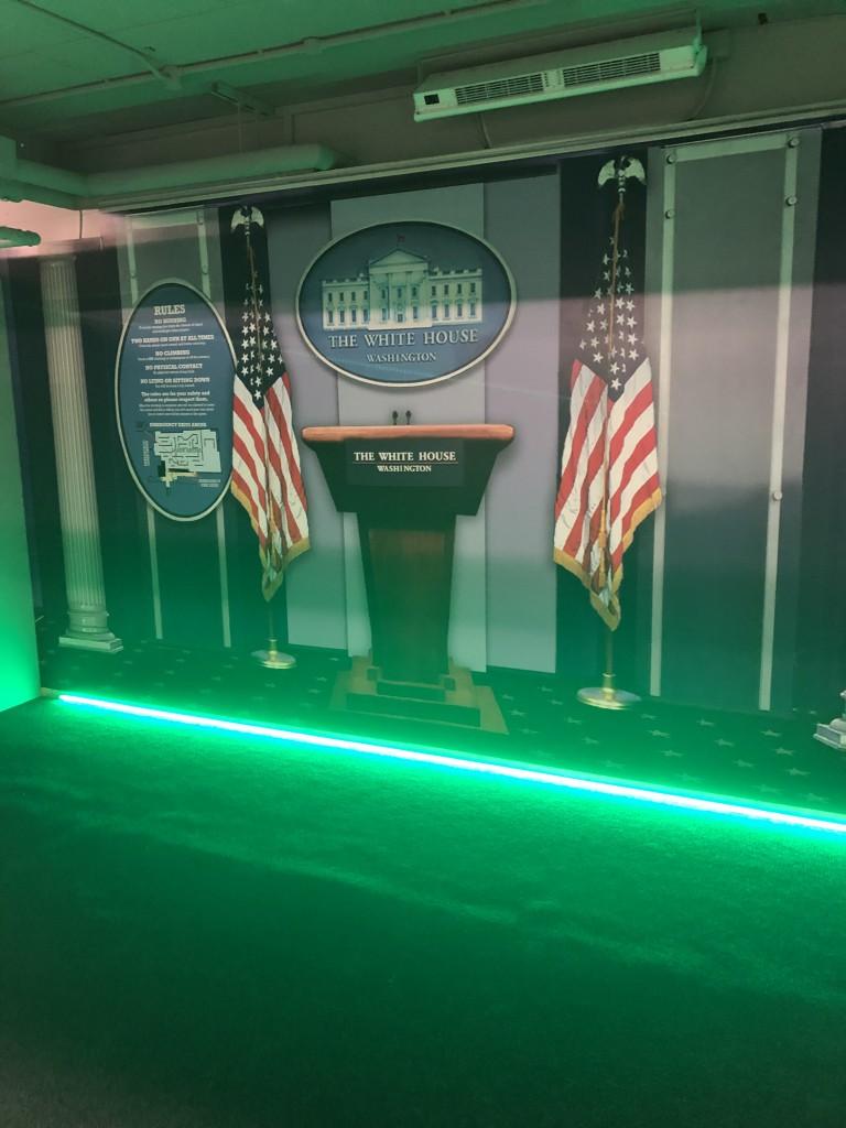 Laser Quest Green LED Strip Lights