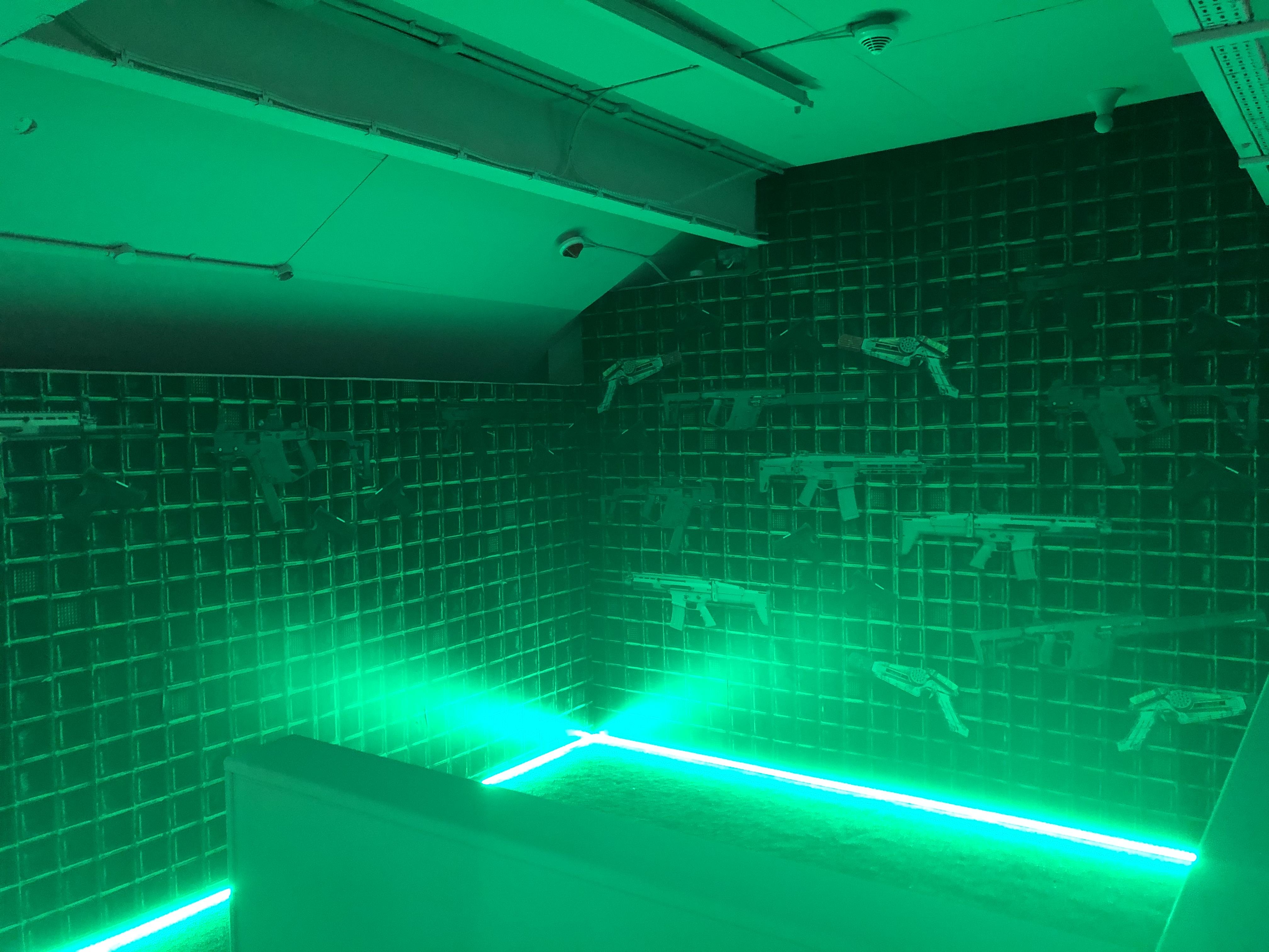 Laser Quest LED Strips