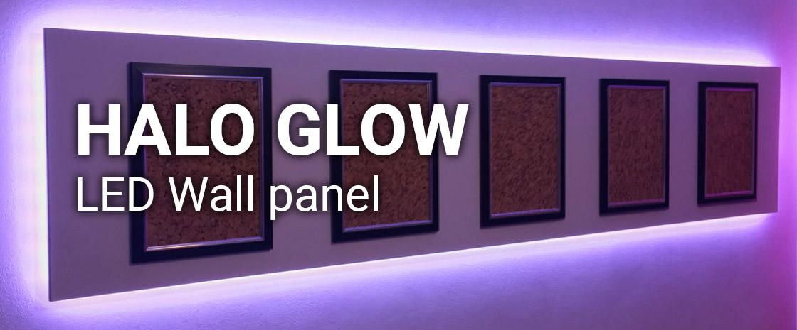 Halo Glow LED Wall Panel
